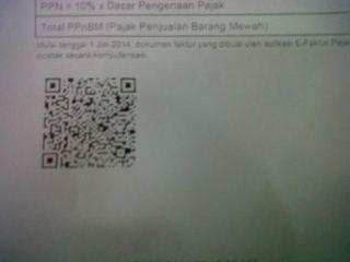 Contoh QR Code eFaktur